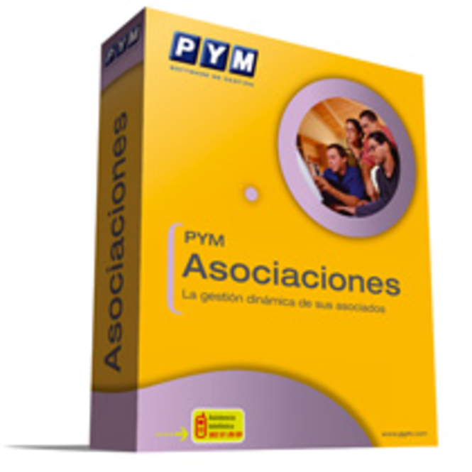 PYM Asociaciones Screenshot