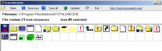TM Icon Extractor Screenshot