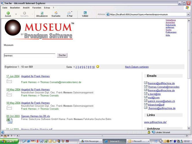BroadgunMuseum Screenshot