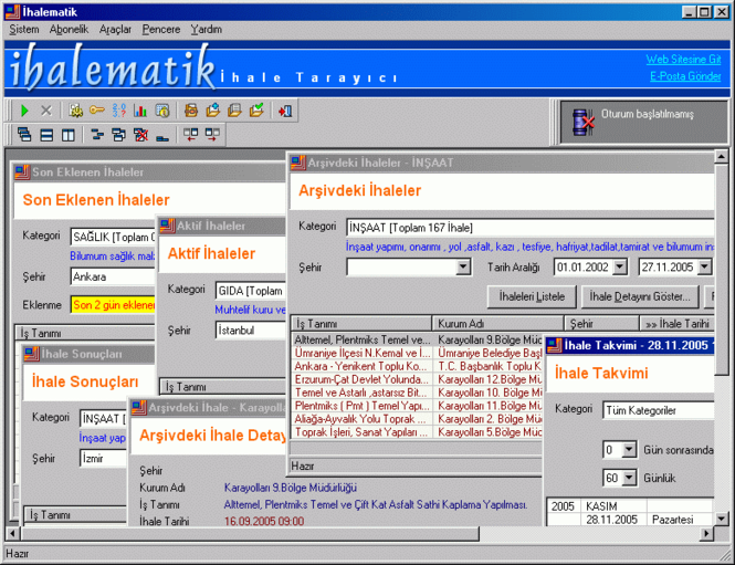 Ihalematik Screenshot