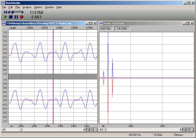 QuickAudio Screenshot 1