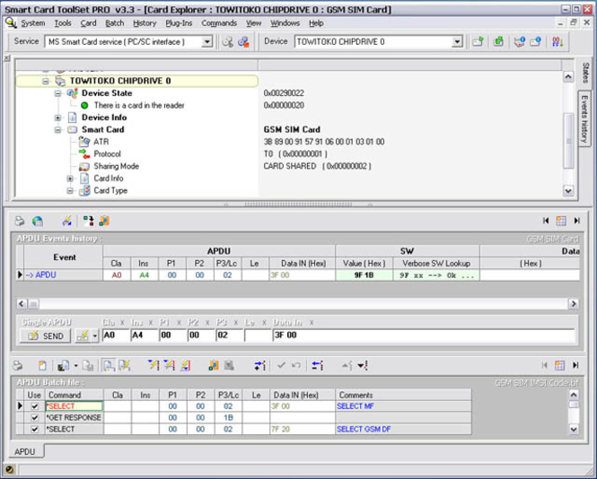 Smart Card ToolSet PRO Screenshot 1