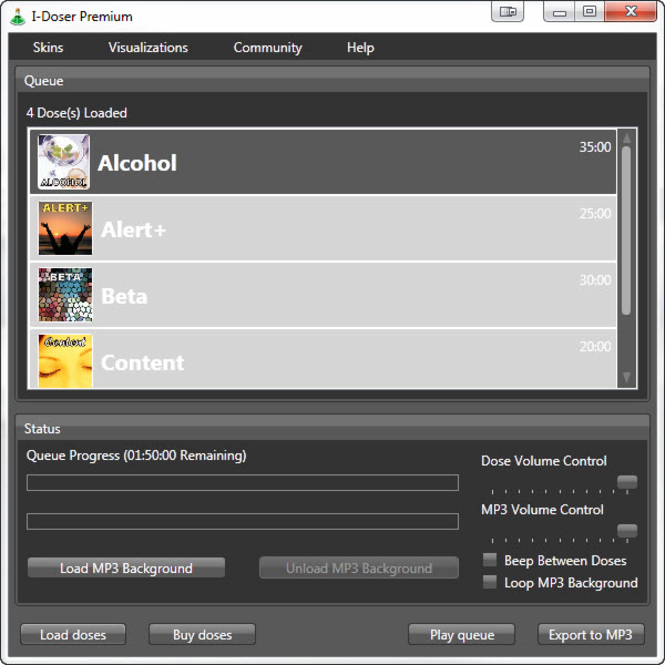 I-Doser Screenshot