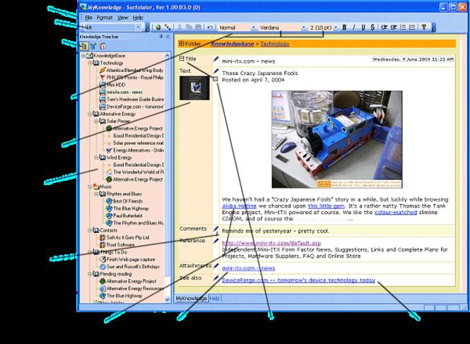 Surfulater Screenshot