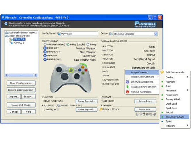 Pinnacle Game Profiler Screenshot 1