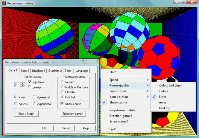 Perpetuum mobile Screenshot