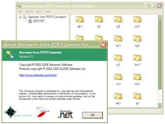 Narawen Inox POP3 Connector Screenshot 2