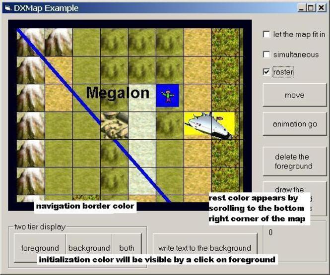 DXMap ActiveX Screenshot 1