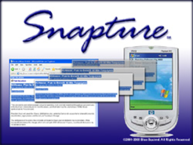Snapture for Pocket PC Screenshot