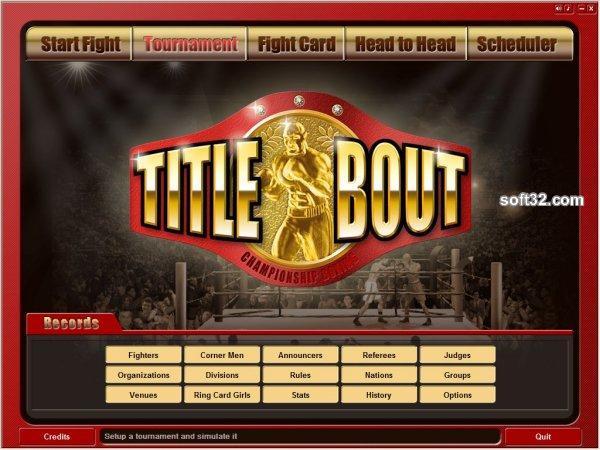 Title Bout Championship Boxing Screenshot 3