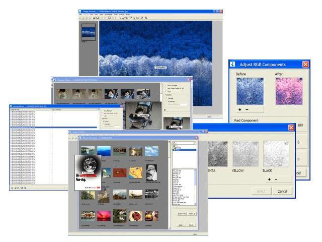 Ilixis Image Console Screenshot