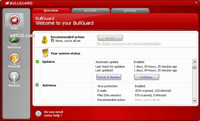 BullGuard Screenshot
