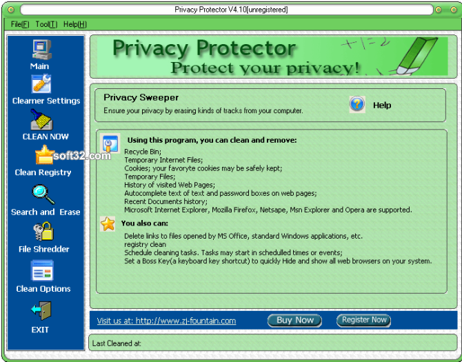 Privacy Protector Screenshot 3