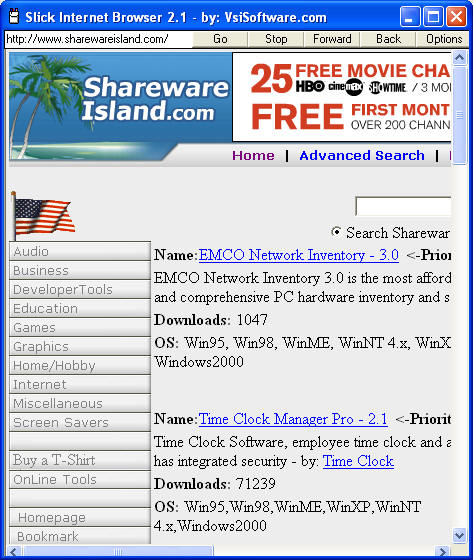 Slick Browser Screenshot 3