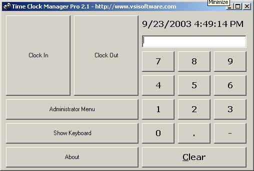 Time Clock Manager Pro Screenshot 3