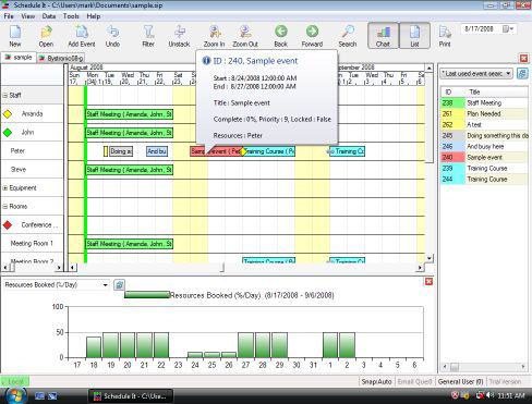 Schedule It Screenshot