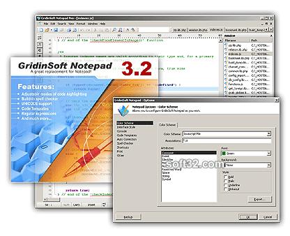 GridinSoft Notepad Screenshot 2