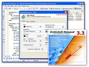 GridinSoft Notepad Screenshot 1