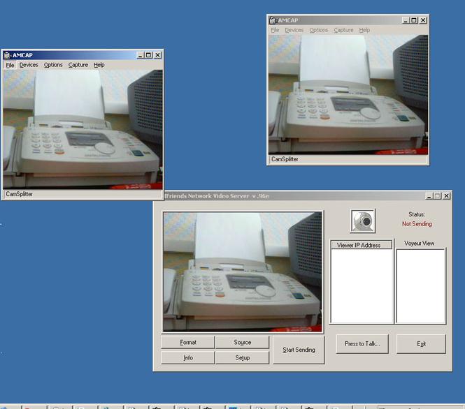 CamSplitter Screenshot 1