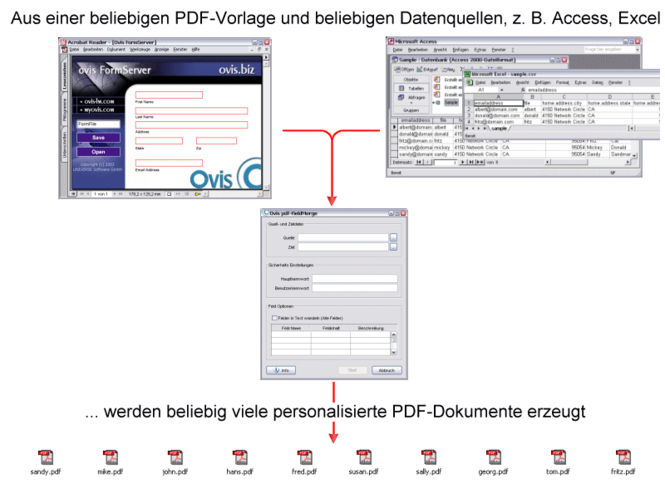 pdf-FieldMerge Screenshot 1