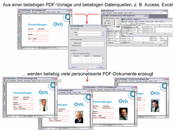 pdf-FieldMerge Screenshot 3