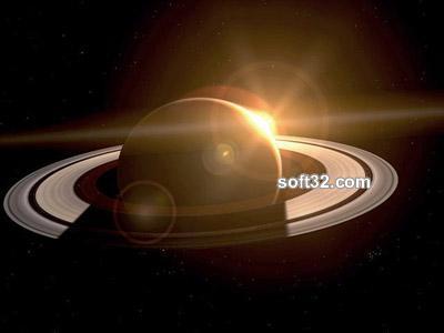 Saturn 3D Space Tour Screenshot 3