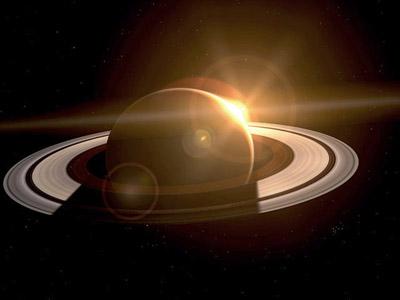 Saturn 3D Space Tour Screenshot