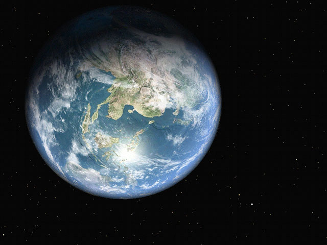 Earth 3D Space Tour Screenshot
