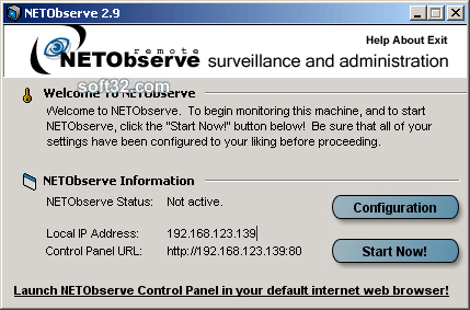 NETObserve Screenshot