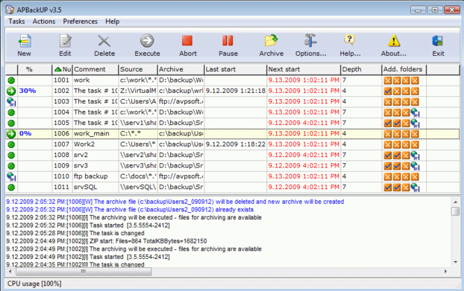 APBackUp Screenshot 1