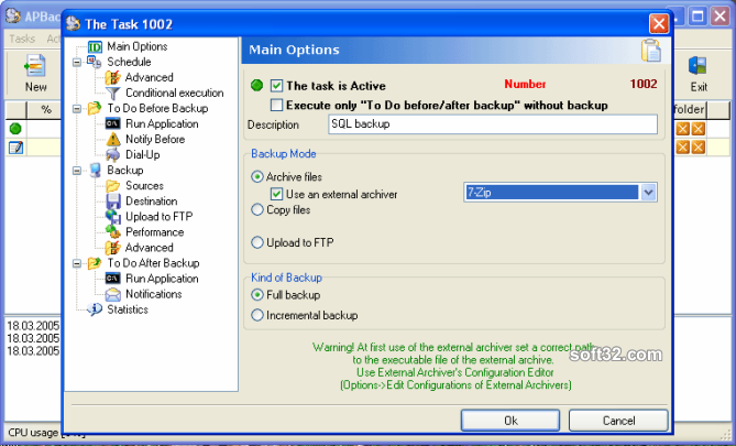 APBackUp Screenshot 2