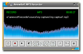 Anewsoft MP3 Recorder Screenshot 3