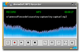 Anewsoft MP3 Recorder Screenshot 1