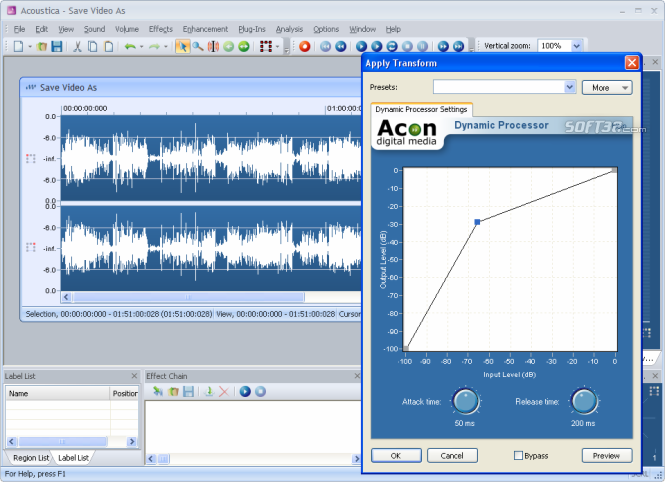 Acoustica Screenshot 2