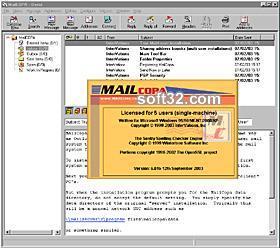 MailCOPA Email Client Screenshot 3