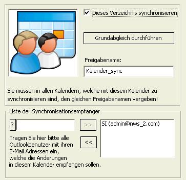 OLCalendarSync Screenshot