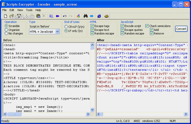Scripts Encryptor (ScrEnc) Screenshot 3