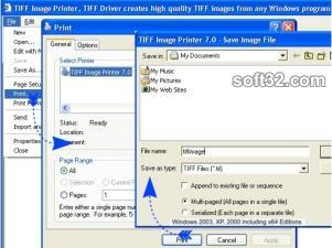 TIFF Image Printer Screenshot 3