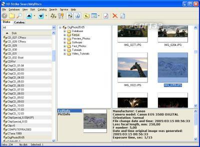 10-Strike SearchMyDiscs Screenshot 2