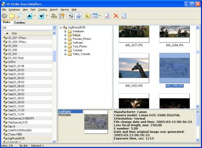 10-Strike SearchMyDiscs Screenshot