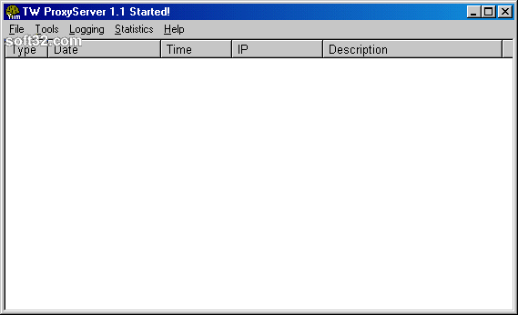Twilight Utilities Proxy Server Screenshot