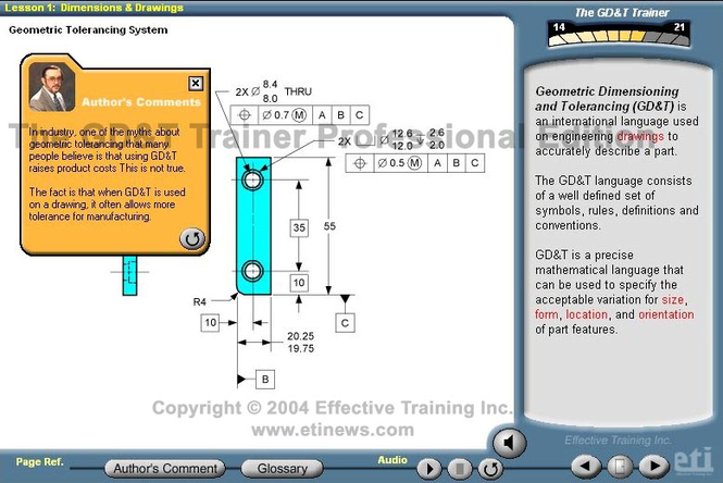 The GD&T Trainer: Professional Edition Screenshot 1