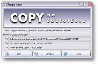 XTempo Mover Screenshot 1