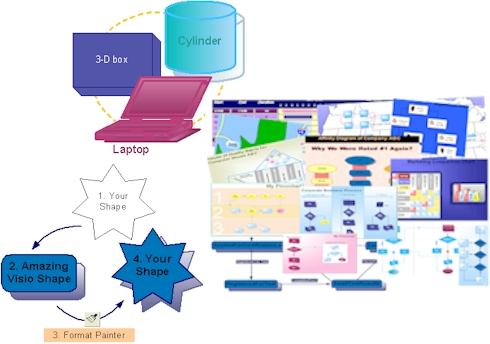Amazing Visio for Microsoft Visio Screenshot