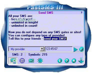 FastSMS III Screenshot