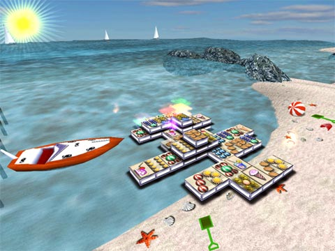 3D Magic Mahjongg Holidays Screenshot