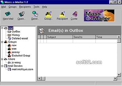 Mass Mailer Screenshot 3