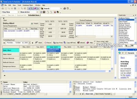 TimeCurve Scheduler Screenshot 2