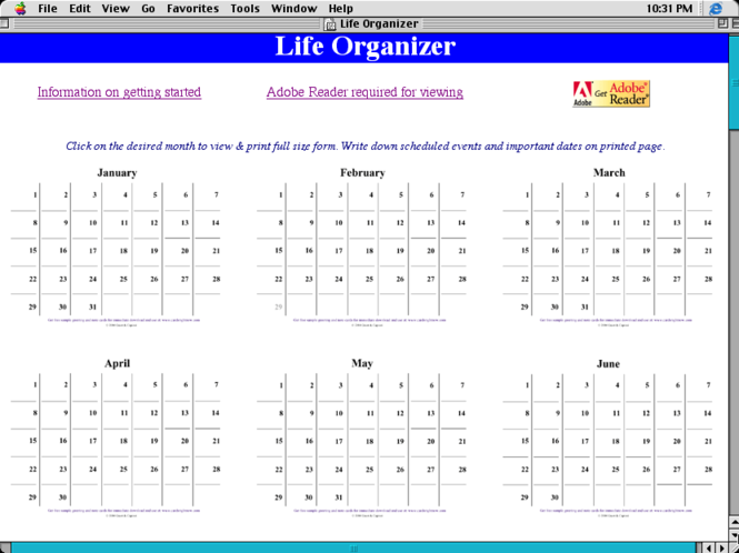 Life Organizer Screenshot 3