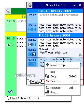 NotesHolder Lite Screenshot 3